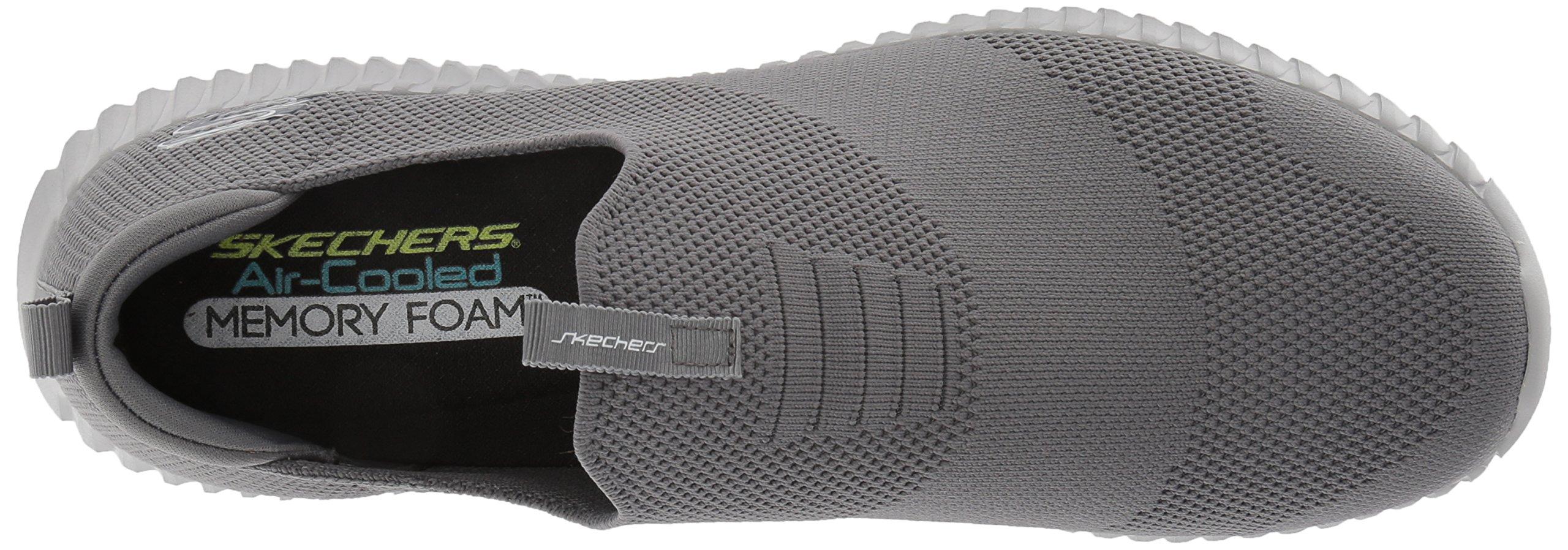 promo code first rate 2019 real Skechers Sport Men's Elite Flex Wasik Loafer,charcoal,10.0 M ...