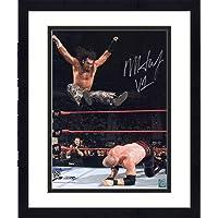 "$87 » Framed Matt Hardy World Wrestling Entertainment Autographed 16"" x 20"" Leg Drop on Kane Photograph - Fanatics Authentic Certified"