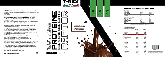 Whey Protein RAPTOR | Proteína de Suero de leche Aislada ...