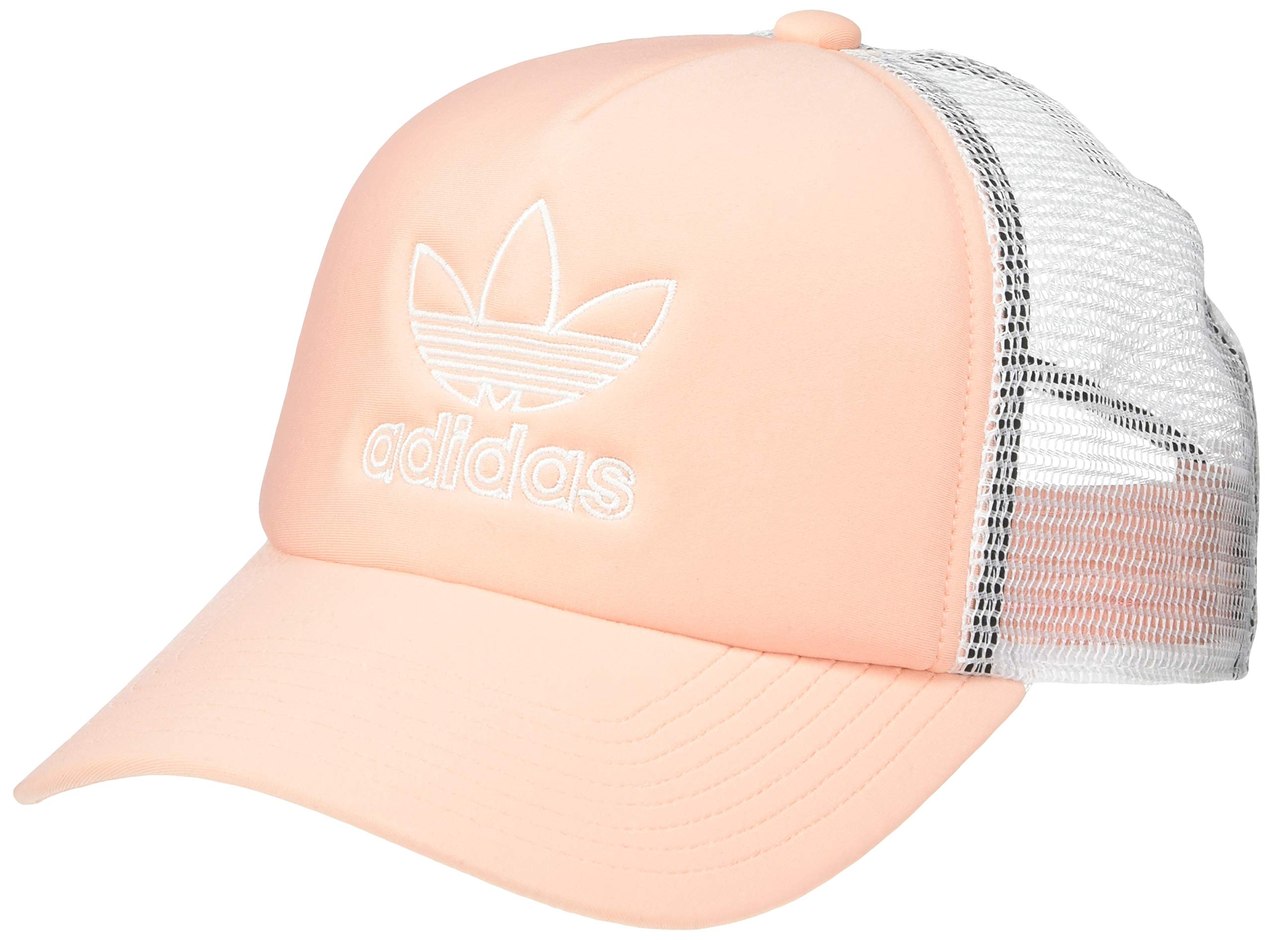 adidas Women's Originals Foam Trucker Cap, Dust Pink/White, One Size