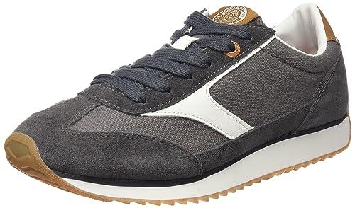 LIBERTO Lib41sl, Sneakers Basses Femme, Gris, 36 EU