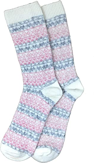 Urban-Peacock Womens Novelty Fun Crew Socks for Dress or Casual Multiple Patterns Available!