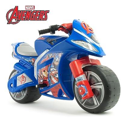 Amazon.com: Marvel Avengers paseo en niños Moto 6 V batería ...