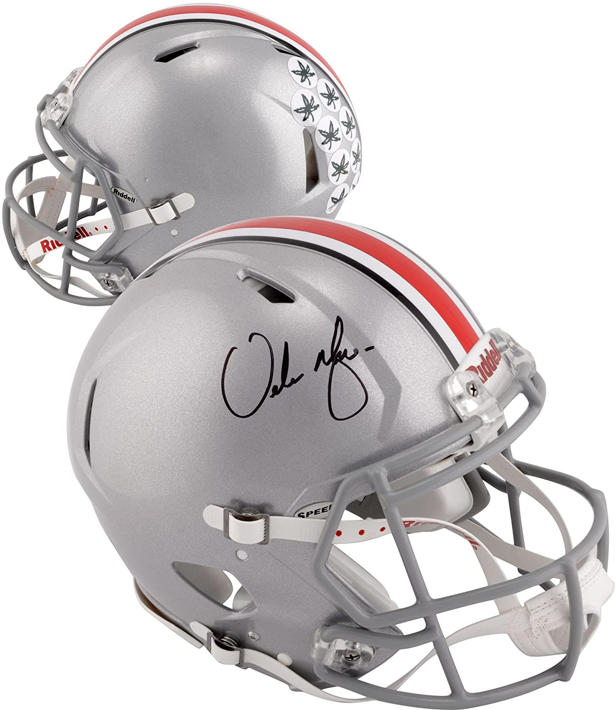 Urban Meyer Ohio State Buckeyes Autographed Riddell Speed Pro-Line Helmet - Fanatics Authentic Certified