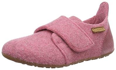 Bisgaard Hausschuhe-Wool Velcro, Mocasines Unisex Niños: Amazon.es: Zapatos y complementos