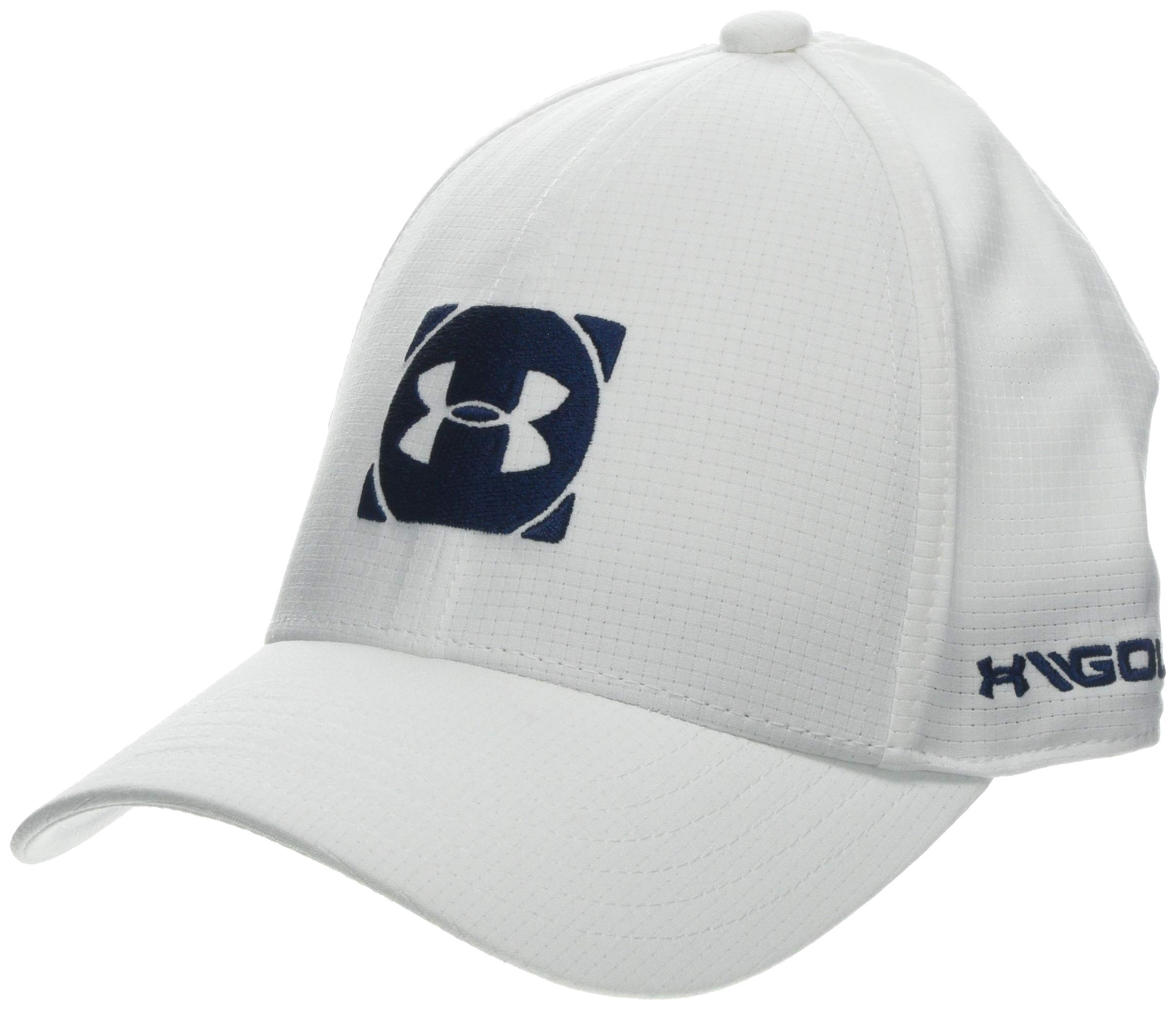 Under Armour Boys' Official Tour Cap 3.0, White (100)/Academy, Youth Small/Medium by Under Armour