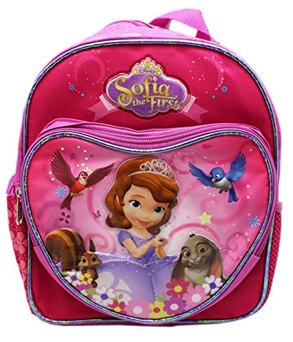 5e53806cf7a Image Unavailable. Image not available for. Color  Sofia the First - Mini  10 quot  Backpack - Little Princess