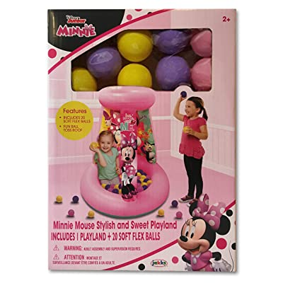 Disney Junior Minnie Mouse Stylish and Sweet Playland: Toys & Games