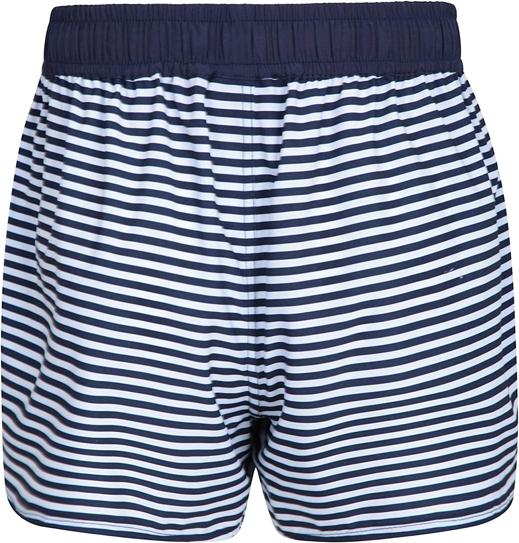 Mountain Warehouse Pantalones Rocky Estampados para Mujer Pantal/ón Corto para Nadar de f/ácil Cuidado para Mujer pantal/ón Corto de Playa con Cintura Ajustable