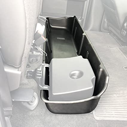 F150 Under Seat Storage >> Red Hound Auto Under Seat Storage Box Compatible With Ford F150 2009 2014 F 150 Supercrew Crew Cab Will Only Fit Supercrew Cab Fits Vehicles With