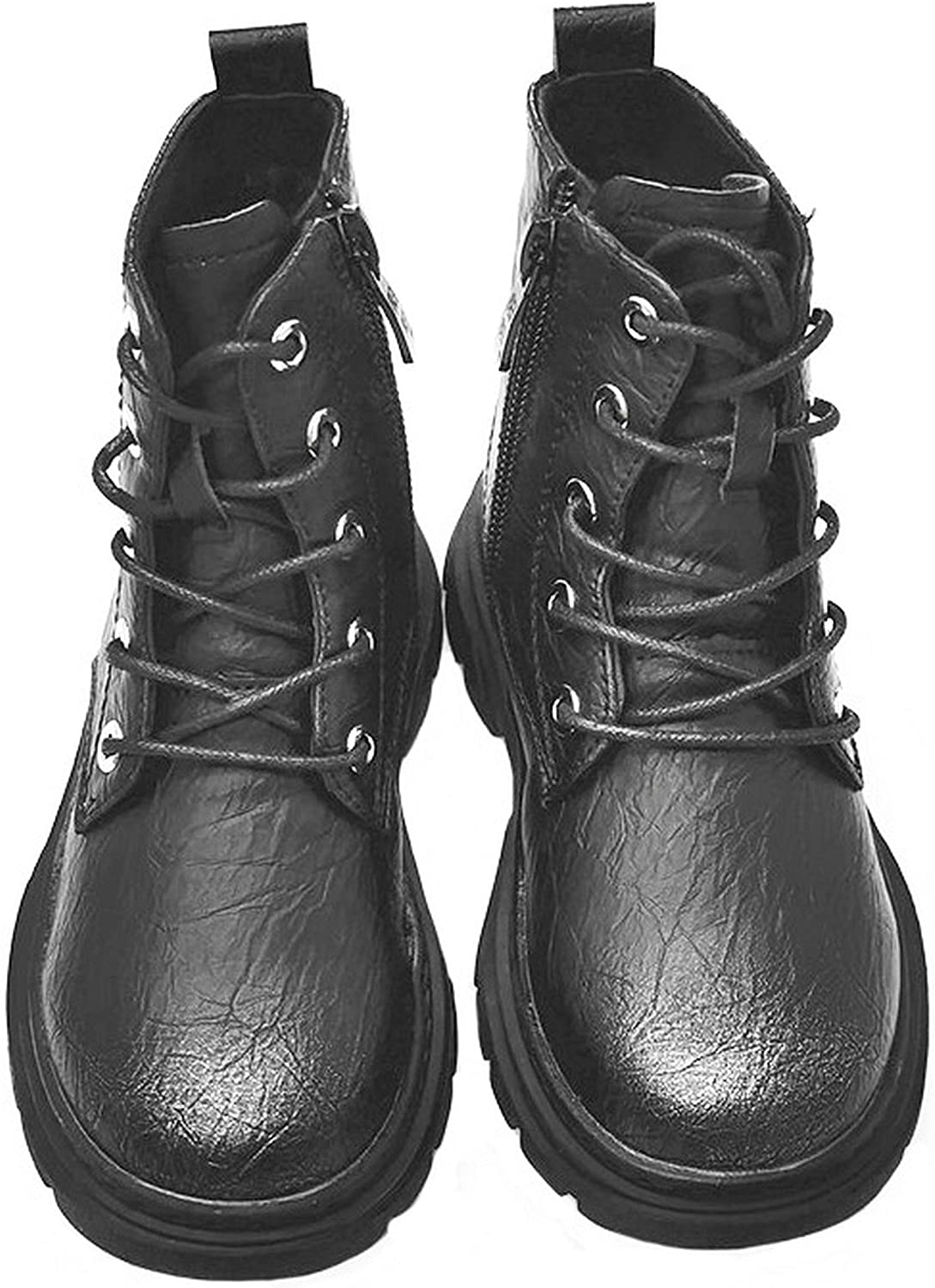 Forever Young Girls Military Ankle Boots Casual Flat Kids Shoes All Ages Size 9-3