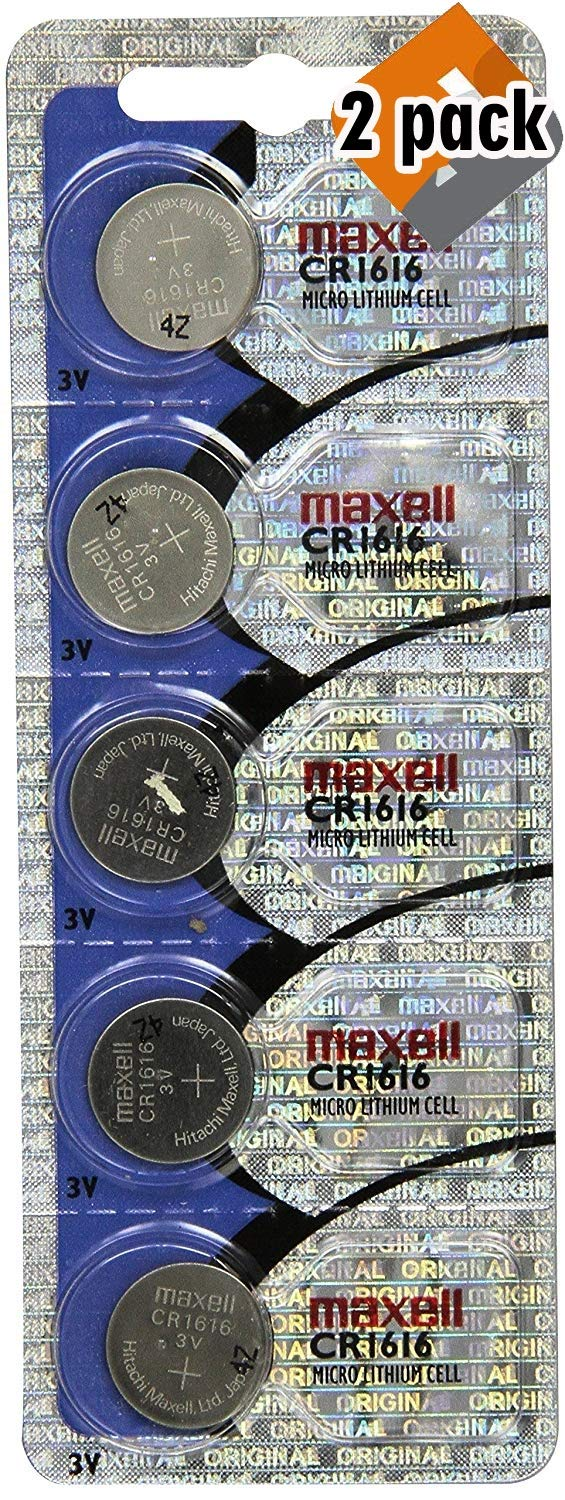 5 Pack Maxell CR1616 Lithium Coin Cell