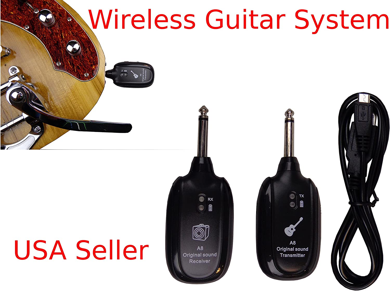 Sistema inalámbrico para guitarra eléctrica Live etapa transmisor ...