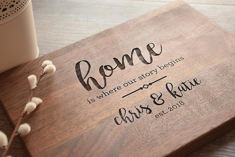 Custom Cutting Board Personalized Cutting Board Wedding Gift Christmas Gift Engraved Cutting Board Anniversary Gift Housewarming Gift