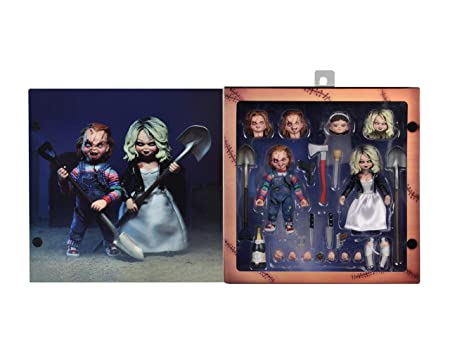 NECA – Bride of Chucky – 7 Scale Action Figure – Ultimate Chucky Tiffany 2-Pack