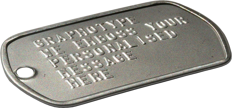 Dog Tags Kit de 9 patins silencieux de rechange pour plaques militaires