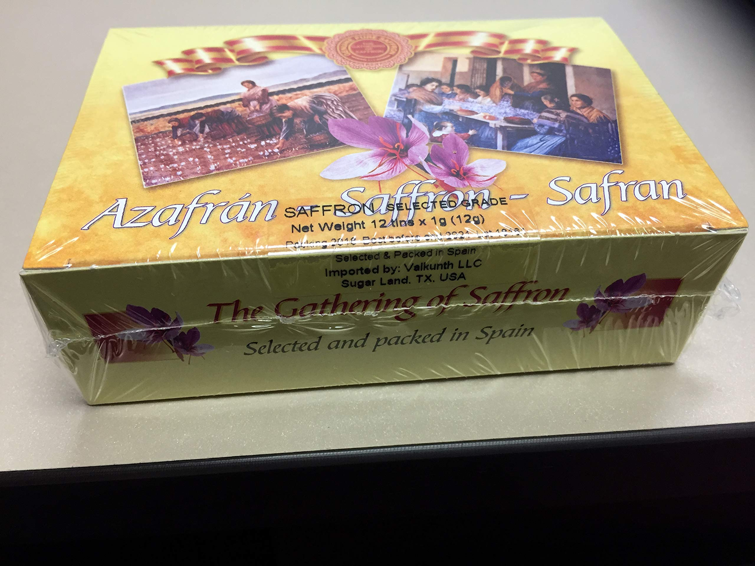 The Gathering of Saffron Brand Saffron 12 tin x 1 gm