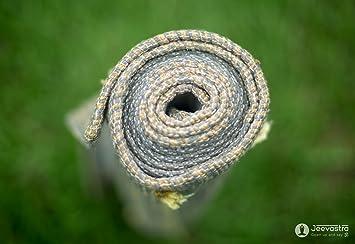 Amazon.com : Jeevastra Vastra Ayurvedic Yoga Mat-Organic ...