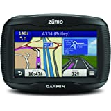 Garmin ZUMO 390LM 4.3 inch Motorbike Satellite Navigation with UK and Full Europe Maps, Free Lifetime Map Updates and Bluetooth