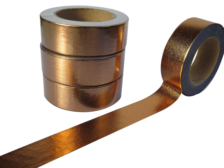 Nastro adesivo Washi, Rame/Placcato oro SusieBsupplies