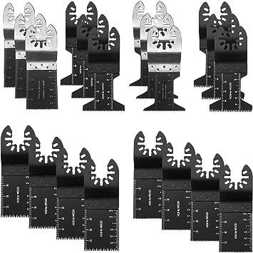 20 Stücke Oszillierende Sägeblätter Klingen Zum Schneiden von Holz Kunststoff