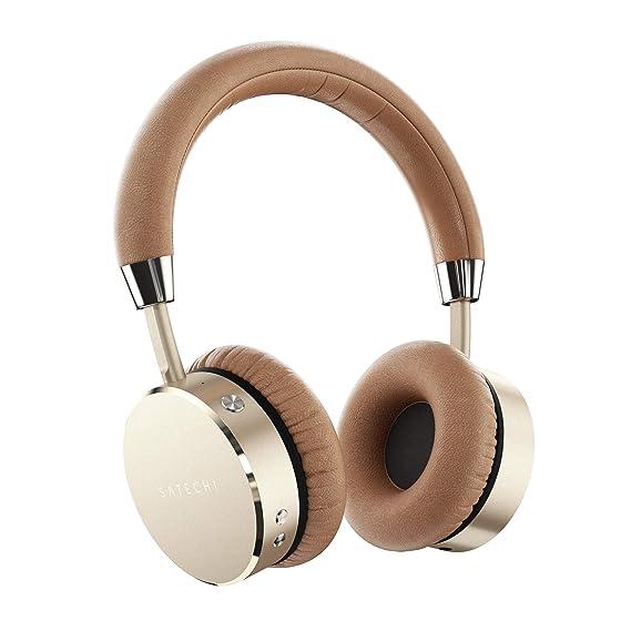 d0c16098454 Amazon.com: Satechi Aluminum Bluetooth Wireless Headphones with ...