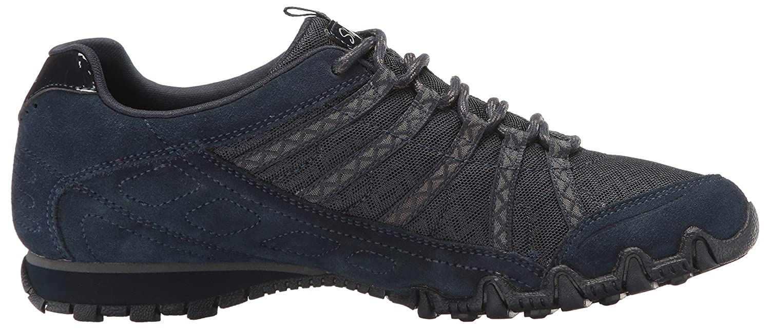 Skechers Woherren 9.5 Bikers-Commotion Turnschuhe Navy 9.5 Woherren M US 0c97b0