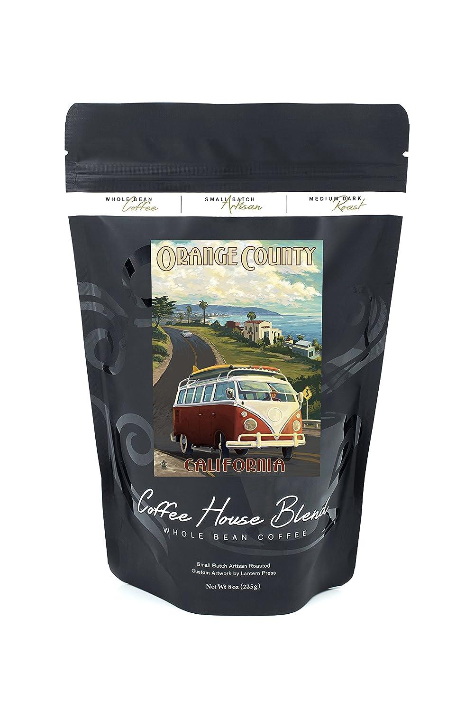 カリフォルニア州オレンジ郡 – VW Vanクルーズ B074S254QY 8oz Coffee Bag8oz Coffee Bag