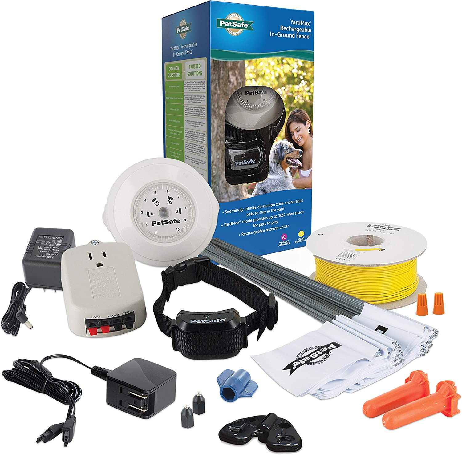 PetSafe YardMax Rechargeable In-Ground Fence