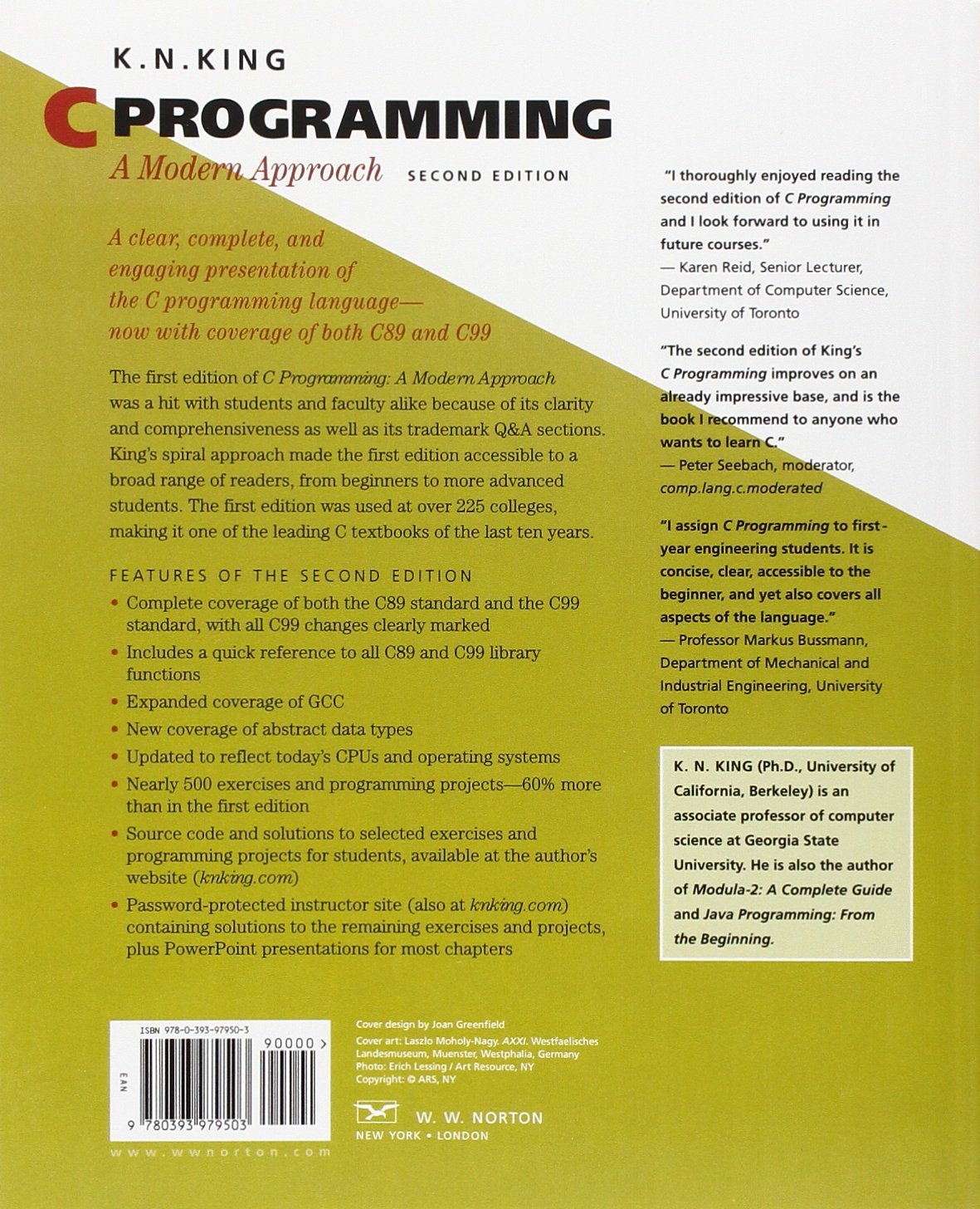 C Programming: A Modern Approach: Amazon.de: K. N. King: Fremdsprachige  Bücher