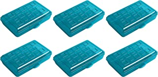 product image for Sterilite Plastic Pencil Box - Green - Pack of 6