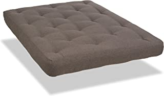 product image for Serta Sycamore Futon Mattress, Queen, Antelope