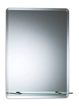 Magnifique miroir de salle de bain rectangulaire avec étagère ...