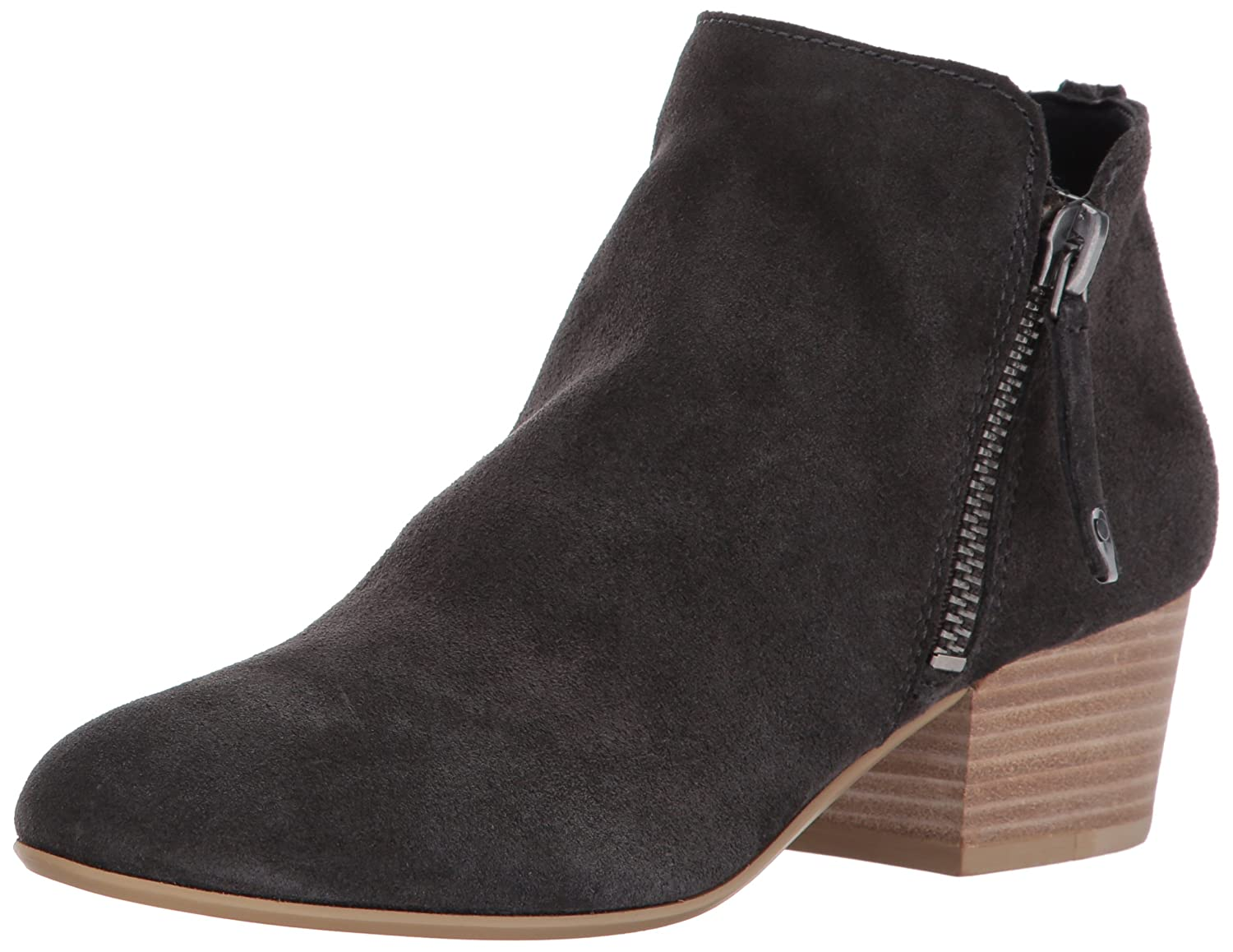 Dolce Vita Women's Gertie Ankle Boot B06XGMZ4YY 6.5 B(M) US|Anthracite Suede
