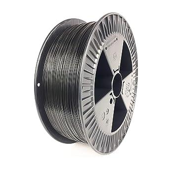 Filamento PETG para pulsador 3D en 2 kg, negro, filamento ...