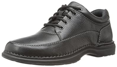 Rockport Men's World Tour Elite Encounter Walking Shoe,Black,6.5 ...