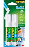 Scotch 6216C - Pack de 2 barras adhesivas, 8 g