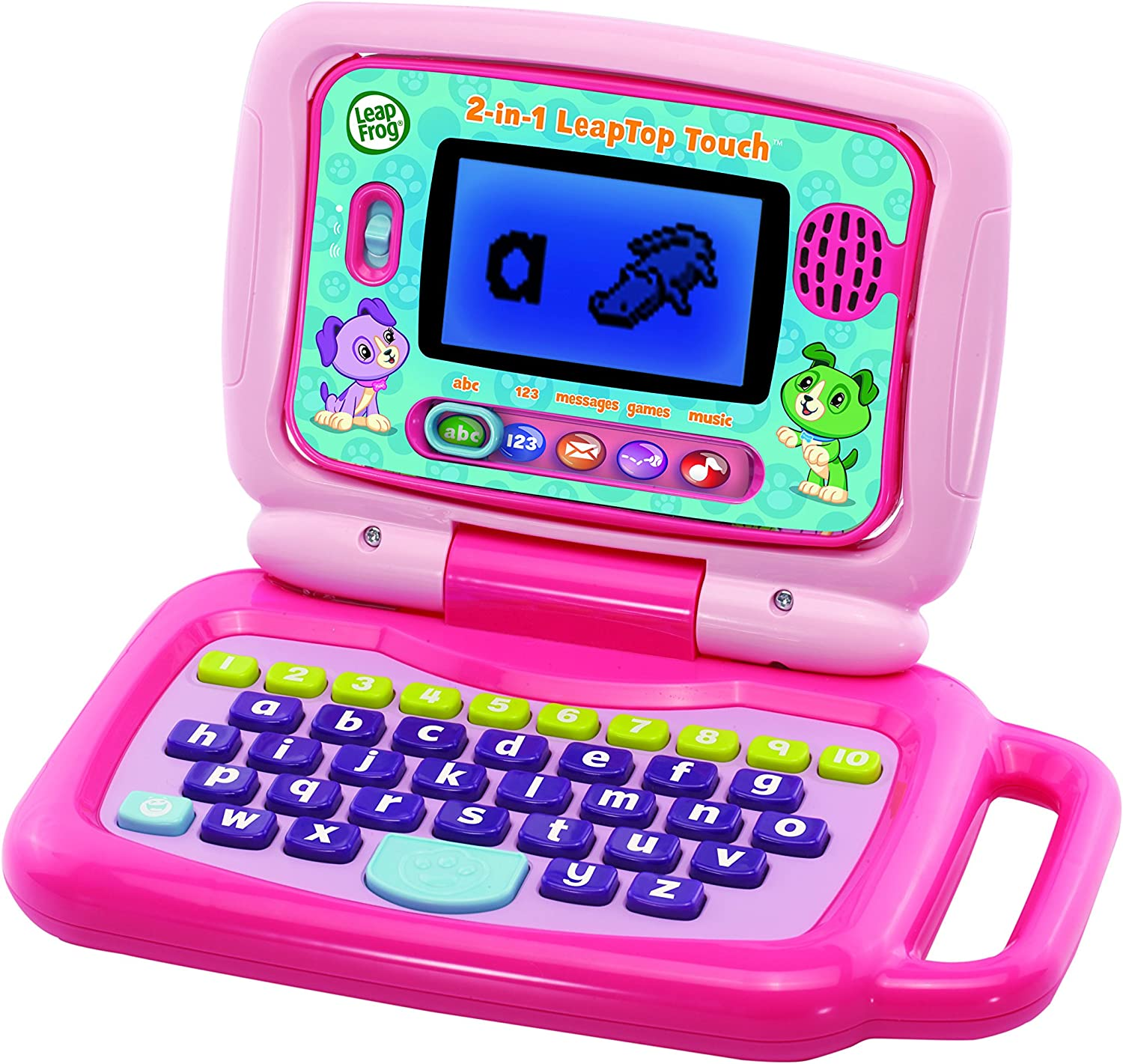 "LeapFrog ""2 in 1 Leap Top Touch Toy, Pink"