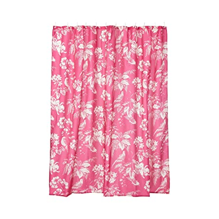 Butterfly Home By Matthew Williamson Pink Birds Of Paradise Shower Curtain