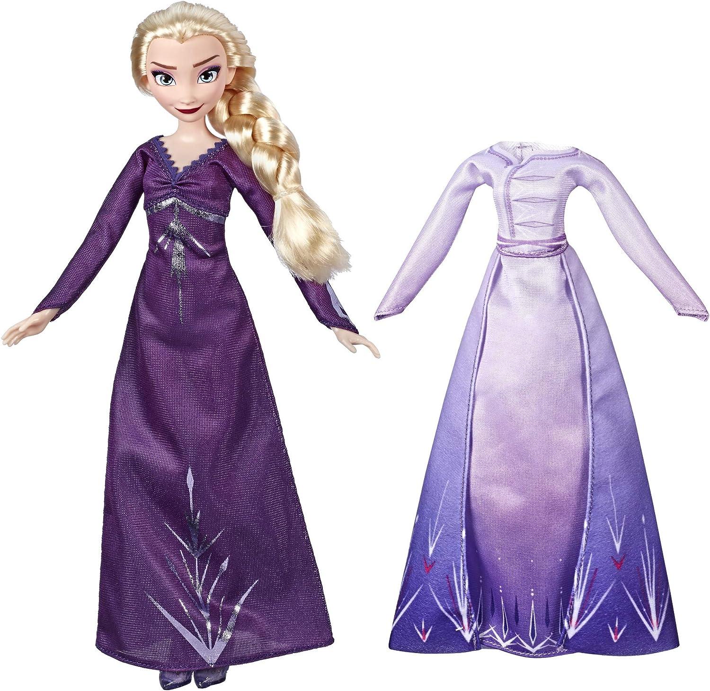 Amazon.es: Hasbro Disney Frozen 2 Fashion + Extra Vestido Elsa ...