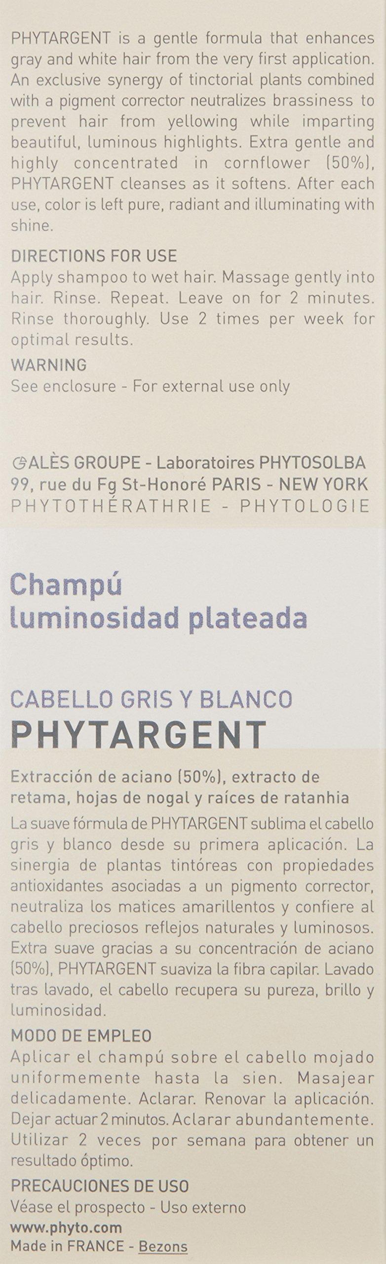 PHYTO PHYTARGENT Brightening Shampoo, 6.7 fl. oz. by PHYTO (Image #4)