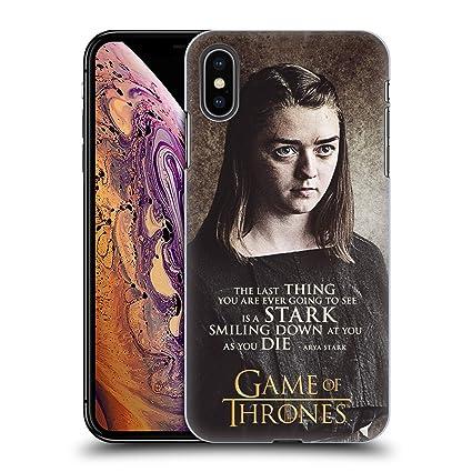 Amazon.com: HBO - Carcasa rígida para iPhone Xs Max (diseño ...