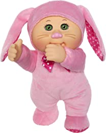 Cabbage Patch Kids 9 Inch Collectible Garden Party Softbody Cuties Doll, Fluffy Bunny