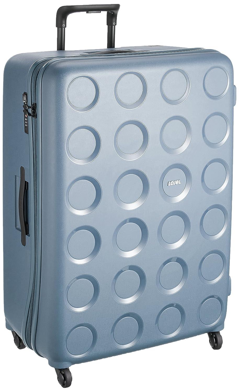 [ロジェール] スーツケース 保証付 117L 80cm 5.3kg VITA-L B0744F51TCスティールブルー