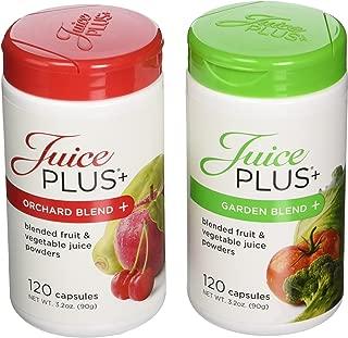 product image for Juice Plus+ Orchard Blend & Garden Blend Capsules 3.2 oz. (1 Bottle Each/120 Capsules)