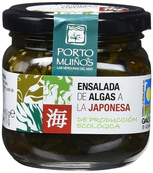 Porto Muiños Ensalada de Algas a la Japonesa - Paquete de 2 x 170 gr -