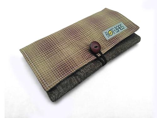 Tabaquera, Funda tabaco de liar de tela, Estuche para tabaco, Pitillera: Amazon.es: Handmade
