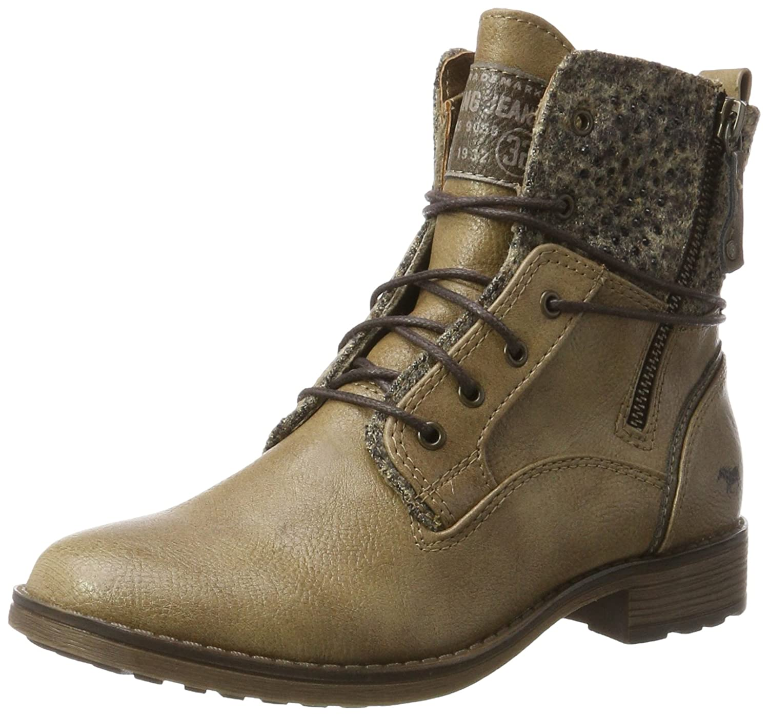 Mustang 1265-504-318, Bottes Femme, Femme, Marron (Taupe) 16371 Marron (Taupe) (Taupe) 4cb308d - automatisms.space