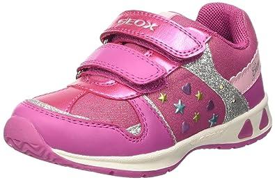Details zu GEOX Stiefel Mädchen Gr.20 rosa mit Fell Lauflernschuhe Erstlingsschuhe