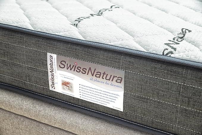 Colchón 90x190 viscoelastico Media Gama Gran Confort colchón Fino ni Grueso (22cm.). Ideal para niños, Jovenes, Adultos, Personas Mayores Cama articulada: ...